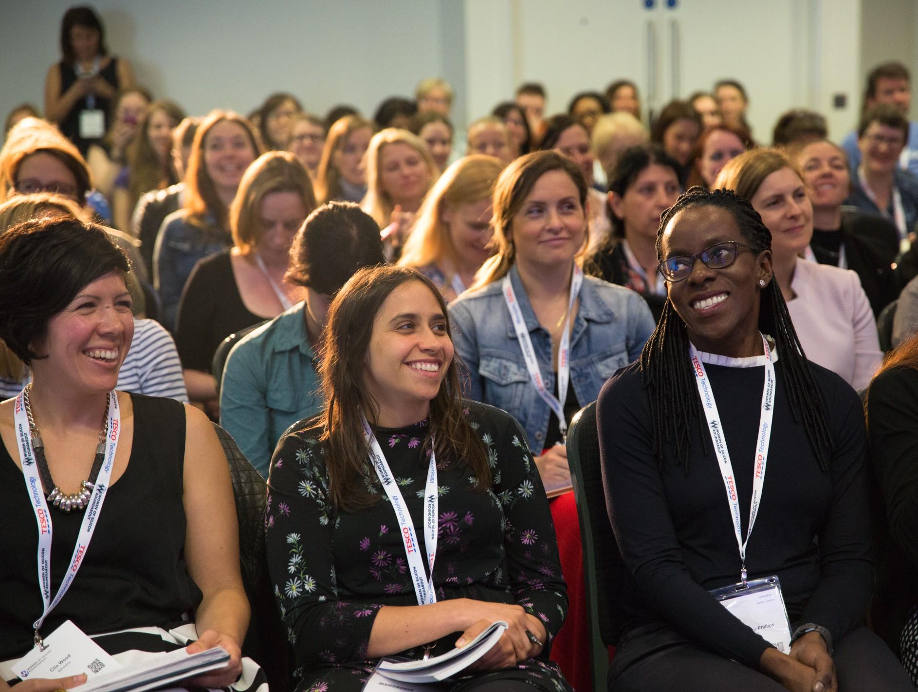Women in Tech Dublin Attendees